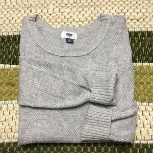 Old Navy Gray High Low Sweater